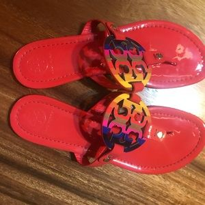 Tory❤️ Burch Miller Sandals! Hardly worn!! Sz 7❤️